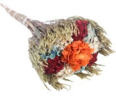 Bouquet de Sempre Viva Sortida com Hortência - Pequeno
