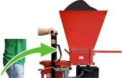 Prensa hidráulica para a fabricação  tijolo