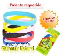 Pulseira Repelente Natural