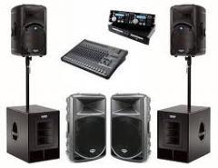 Sistemas de sonorização