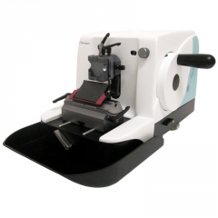 Equipment for histological working of cloths