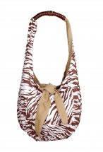 Bolsa dupla face zebra