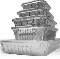 Fabricação de embalagens de aluminio:marmitex