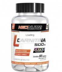 L-Carnitina 500mg (60tabs) - Neo Nutri