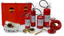 Equipamentos de combate à incêndio