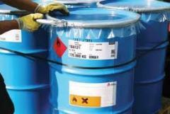 Produtos químicos e materiais para instalação