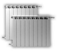 Piezas de repuesto para los radiadores