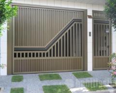 Portões de aluminio