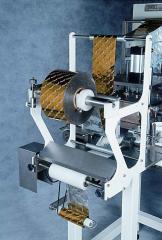 Maquina TEKPACK para aplicação de SELO PLASTICO no bocal de POTES,FRASCOS e Bandejas PLASTICAS.