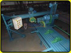 Máquina de cortar granito SRF-E, boleia, rebaixa, bizota, fura e encabeça