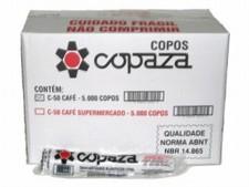 Copo Desc. 50ml ABNT Branco 2500 unid. Copaza