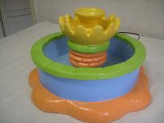 Chafariz para decoração de festa infantil
