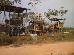 Planta para Mineração de Ouro