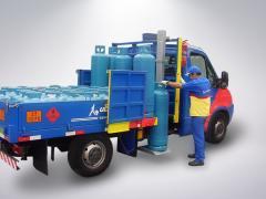 Plataforma de elevação GLP e gases do ar MKS 200 PEG