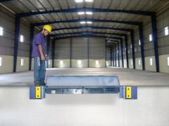 Niveladora de Doca Frontal Articulada | Capacidade de carga: 6000kg e 9000kg