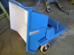 Transportador de cavacos, Transportador de Esteira