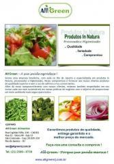 Vegetais Higienizados e Processados