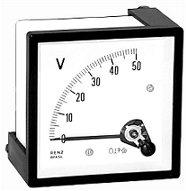 Voltemetro Bobina Movel C.C. 1V р 600V