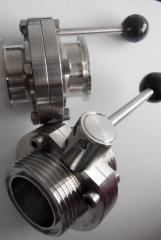 Sanitary Butterfly Valve (Butt-Clamped/Welded/Thread)