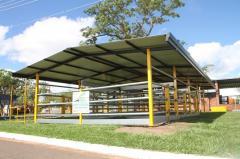 GALPÃO COCHEIRA ECO MODULO 104 m²