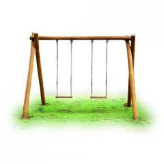 Playground de tronco Balanço