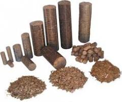 Wood Briquets and pellets