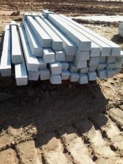Mourões de concreto (palanque) reto e curvo sp