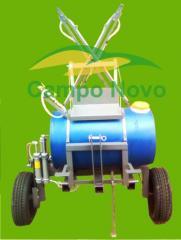 Pulverizador 200 litros tração mecanica e animal