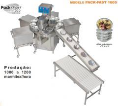 Fechador automático de marmitex