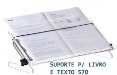 //Suporte para Livro e Texto Acrílico - 560