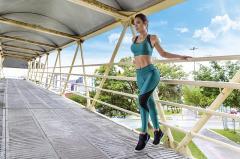 Roupa de fitness para mulher