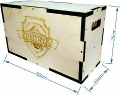 Box de Crossfit (Plyobox) Plywood 18mm