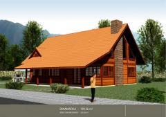 Casas pre fabricadas em madeira
