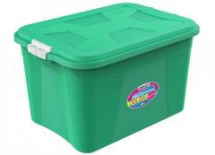 Caixa Organizadora Color 56 litros com trava