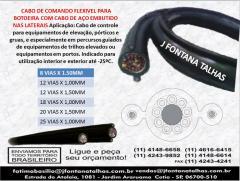 Cabo de Comando Flexível para Botoeiras Pendentes 1141486658 J Fontana Talhas MF