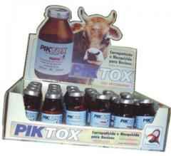PIK-TOX Uso Veterinário indicado para o controle