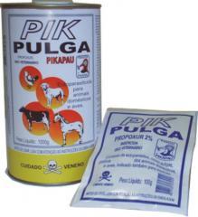 PIK PULGA PIKAPAU Produto em pó de Uso Veterinário