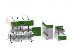 Dissolution Tester with Auto Sampler
