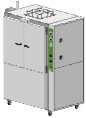 Air Renewal NBR 8165 and NFPA 86 Oven