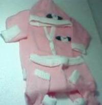 Conjunto tricot meia estação CME01