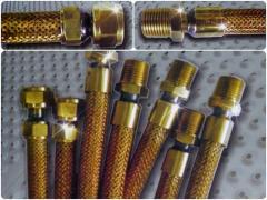 Tubos Flexíveis Metálicos para Gás Natural e GLP