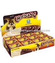 Chocolate e avelã Chocogang de creme