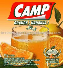 Bebida do pó do acampamento