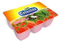 Iogurte Polpa Morango Cotochés - 540 g
