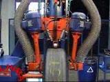 Maquina de limpeza de pneus