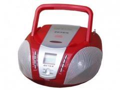 RÁDIO PORTÁTIL COM CD E MP3 ZGA1668 MP3