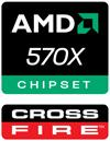 Chipset AMD 570X CrossFire™