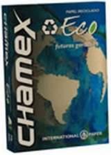 Papel Sulfite Chamex Eco A4 75grs 500fls