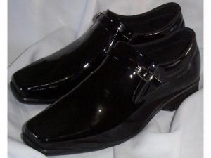 Sapato Masculino Couro Verniz Legítimo - Direto Da