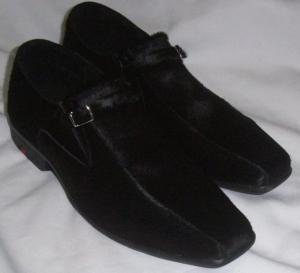 Sapato Masculino Couro Legítimo com PELO - Direto